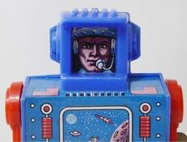 Cap't Astro Space Man Robot