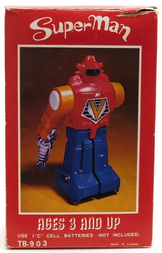 Mighty Man Robot