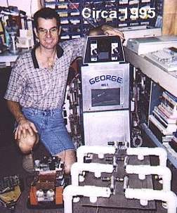 Robot George Built By Dan Mathias