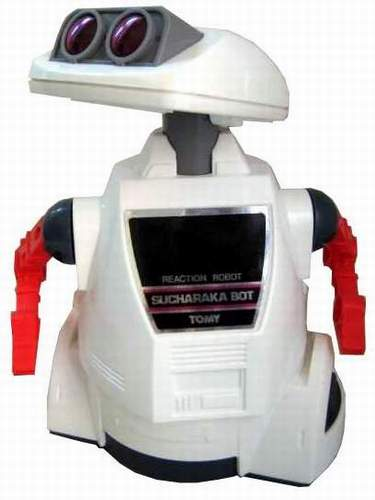 Crackbot Robot by Tomy